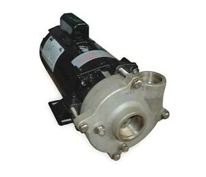 Stainless Steel 1 2 Hp Centrifugal Pump 115 230v
