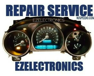 Repair Service For Chevrolet Ssr Instrument Cluster 2003 2004 2005 2006 Chevy