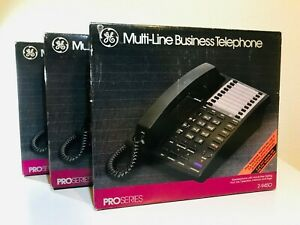 Ge Multi line Business Phones W 4 Lines Paging And Intercom 3 Phones