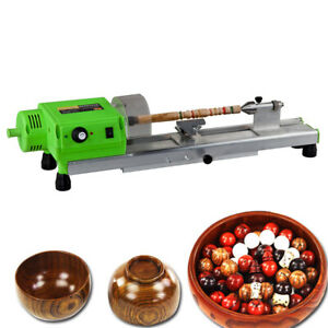 480w Beads Bench Top Wood Lathe Woodworking Beads Lathe Machine Drilling Driller