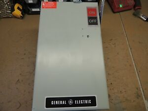 Ac363rg Ge Busway Switch Plug Recon 100 Amp 600v With Ground