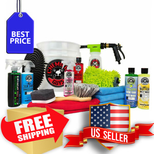 Chemical Guys Hol148 Wash And Detail Kit 14 Products
