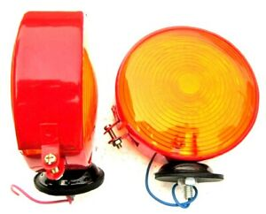 Tractor Ford Leyland Kubota 32530 33610 Hazard Signal Indicator Lollypop Lamp