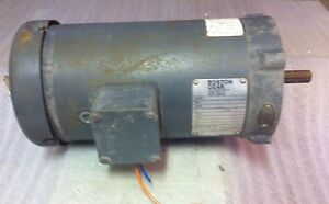 Boston Gear Model V95000 tf48 1 2 Hp 1750 Rpm Frame 56c 4200 Dc Motor