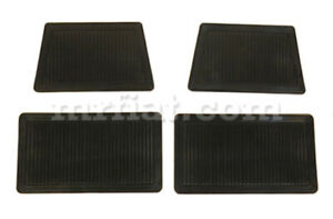 Ferrari 365 Gtc 4 Gobbone Rubber Mat Set 4 Pcs New