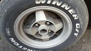 80 Rx7 Mazda Used Wheels 4 With Used 13 Inch Tires