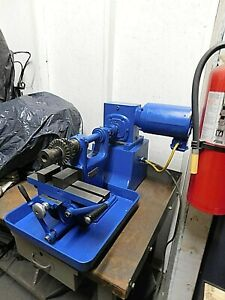 Van Norman Horizontal Milling Machine W Heavy Duty Base Drive rare Find