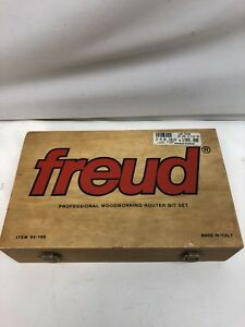 Freud 94 100 Professional Woodworking Router Bit Set Made In Italy