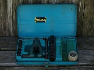 Hazet 2191 Tube Flaring Tool Kit Set Incomplete Made In Germany