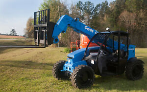 2015 Genie Gth 5519 5 500lb 19 Telehandler new Paint And Decals Ready To Work