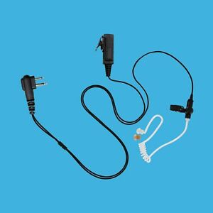 High grade Lightweight 2 wire Clear Air Tube Earpiece With Ptt For Relm Rp6500