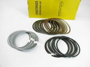 Hastings Cr 4024 040 Engine Piston Rings 040 1963 1966 Pontiac 421 V8