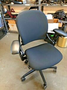 Executive Chair By Steelcase Leap V1 fully Loaded Refurbished