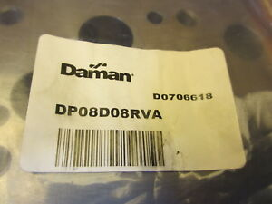 Daman Dp08d08rva Ductile Relief Valve Adapter Hydraulic Manifold new