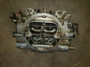 Carter Afb 9605s 600cfm Carburetor