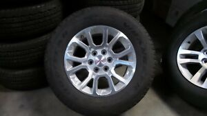 18 Gmc Sierra Chevy Silverado Tahoe Oem Wheels Rims Tires 2016 2017 2018 5697
