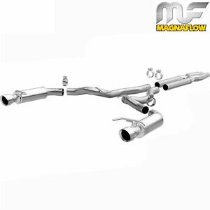 Magnaflow 3 Cat Back Dual Exhaust 2015 2017 Ford Mustang Gt 5 0l V8 Coyote