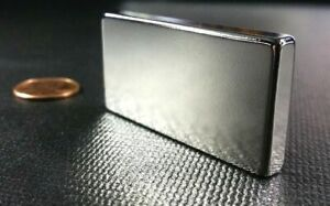 1 2 5 10 Pc 2 x1 x1 4 N52 Strong Block Rare Earth Neodymium Magnet
