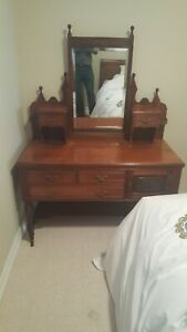 Antique Dresser With Mirror Circa Late 1890 S Early 1900