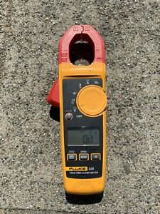 Fluke 325 True Rms Clamp Meter No Leads