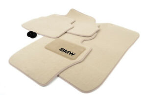 2007 2008 Bmw 328xi Coupe Carpeted Floor Mats Factory Oem Set Of 4 Beige