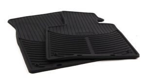 2002 To 2008 Bmw Z4 Rubber Floor Mats Factory Oem Bmw Accessories Black