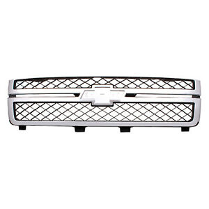 Front Grille Fits 2011 2014 Chevrolet Silverado 2500 3500 20966058