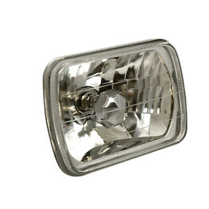 Anzo Universal H4 7 5 X 5 5 Rectangular Headlight Diamond Cut 841004