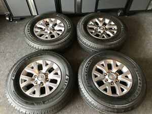 Set Of 4 Brand New 2019 Toyota Tacoma Oem Factory Wheels New Tires