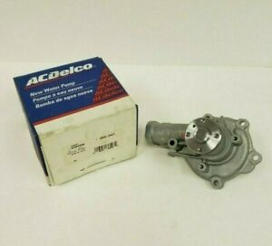 Acdelco Engine Water Pump 252 347 Gm Oe 12494096 Nos Free Priority