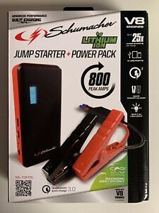 Schumacher Vehicle Car Jump Starter Power Pack 800 Amps Usb Charger Sl1315 New