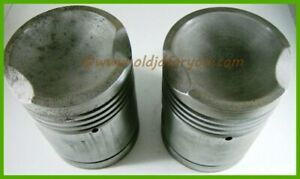 B2381r John Deere B Pistons With Wrist Pins And Snap Rings Cast Iron Gas