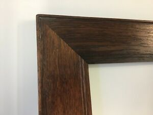 Large Antique 4 Wide Oak Frame 41 25 X 34 25 Great Condition