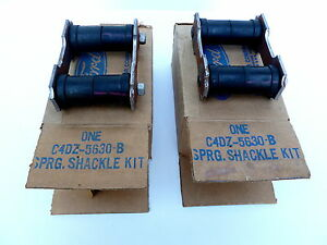 1965 1966 Shackle Kit Pair Nos Ford Mustang Shelby 1967 1968