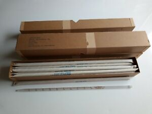 3 Boxes 18 Each Of Chatas Glass Pipette Serological 1 Ml 6640 437 3000