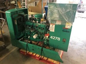 Onan Genset 30 oek 15r Natural Gas Standby 30 Kw Generator Ford Engine 1181 Hrs