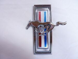 1970 Nos Ford Mustang Front Grille Emblem 70 Grill Boss 302