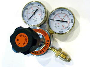 Propane Regulator Welding Cutting Soldering Bbq Or Acetylene Torch 3 Gauges