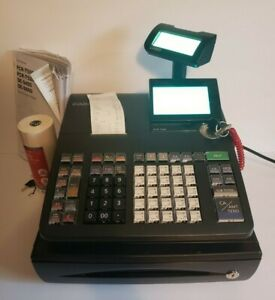 Casio Pcr t500 Electronic Department Cash Register customer Display thermal Xtrs