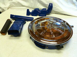 1970 Boss 302 Ford Mustang Cougar Non Shaker Air Cleaner With Nos Wing Nut