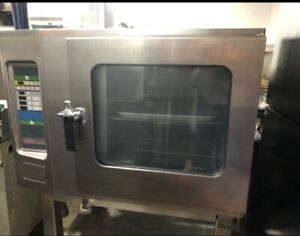 Excellent Lang Lce 61 dp Commercial Electric Half Size Combi Oven Convection