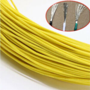 Yellow Equipment Wire Diy Electrical Wire Flexible Cable Ul1015 8 10 12 24awg