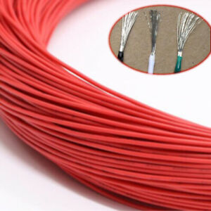 Red Equipment Wire Diy Electrical Wire Flexible Cable Ul1015 8 10 12 14 24awg