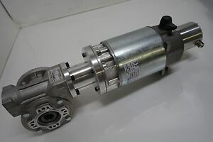 Selema Pm Dc Motor gearbox Unit 63 Pc 659 B14 D