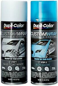 Dupli color Cwrc870 Blue Glow In The Dark Custom Wrap Removable Coating 11oz