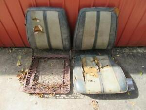 Pair Of 68 69 B Body Mopar Front Bucket Seat Cores