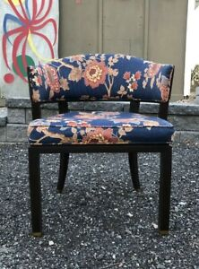Vintage Dunbar Signed Chair Estate Find Mid Century Modern