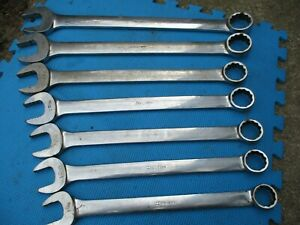 Snap On Tools Huge Wrenches 1 1 8 To 1 9 16
