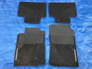 2005 2011 Toyota Tacoma All Weather Rubber Floor Mats