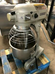Hobart A 200t Commercial 20 Qt Bakery Baking Dough Mixer Bowl Guard Whisk Paddle
